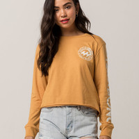 BILLABONG Ocean Tide Womens Crop Tee
