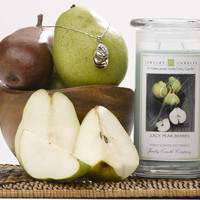 Juicy Pear Berries Jewelry Candles - Last Chance Sizing!