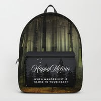 Why am I here Backpack by happymelvin