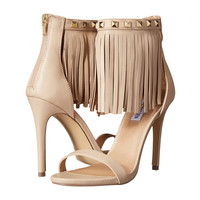 Steve Madden Siooux Soft Pink Leather Fringe Cuff Shoes