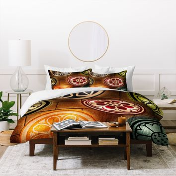 Catherine McDonald Lanterns Duvet Cover