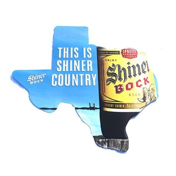 Shiner Country Texas Sign