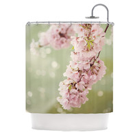 """Catherine McDonald """"Cherry Blossom"""" Shower Curtain, 69"""" x 70"""" - Outlet Item"""