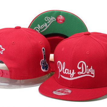 af3b2273b19c9 Perfect Undefeated Play Dirty Snapback hats Women Men Embroidery