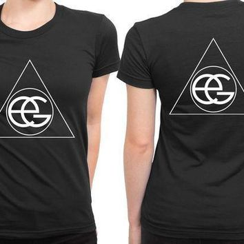 Ellie Goulding Classic Logo 2 Sided Womens T Shirt