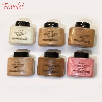 Fovolet loose Banana Powder makeup