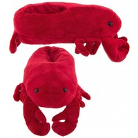 Wishpets Red Lobster Animal Slippers