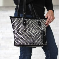 Rhinestone Embellished Purse