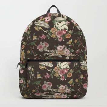Botanic Wars Backpacks by Josh Ln