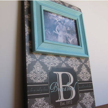 Monogram Picture Frame, Monogram Frame Gift, Monogram Gift, Family Name Gift, Monogram Sign, Monogram Decor, Wedding Gift, Createframes