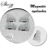 Shozy 4 Pcs/Pair Convenient Magnetic Eyelashes Extension Eye Makeup Accessories Soft Hair False Eyelashes Fake lashes-ECT007