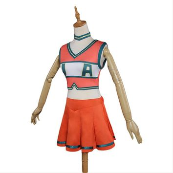 Boku no Hero Academia My Hero Academia Cheerleading Uniform Dress Cosplay Costume