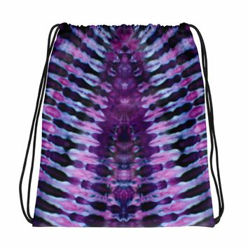 Tie Dye Printed Drawstring bag