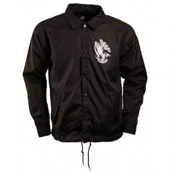 Santa Cruz Skateboards Santa Cruz Pray Coach Wind Breaker Jacket