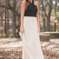 I'll Be The One Maxi, Black/Cream