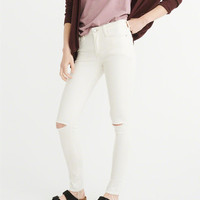 Womens Low-Rise Super Skinny Jeans | Womens Clearance | Abercrombie.ca