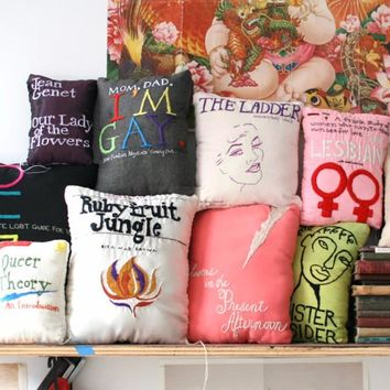 Queer Lit Pillows