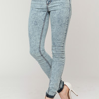 Light Acid Skinny Jeans