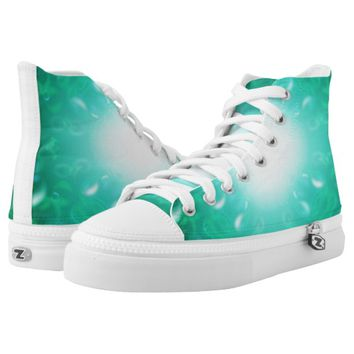 Glow Bubbles Printed Shoes