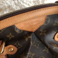 PEAP Authentic Louis Vuitton Tivoli GM Monogram Tote Bag