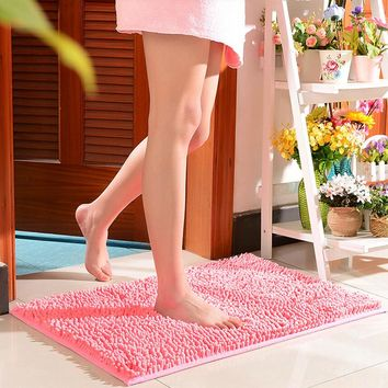 Comfortable Non Slip Bath Mat,Candy Colours Carpet Kitchen,Floor Mat for Home Living Room Bedroom,Rug Bathroom,Kids Doormat Soft