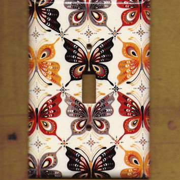 Butterflies are Forever Switchplate covers by TurnMeOnArt on Etsy