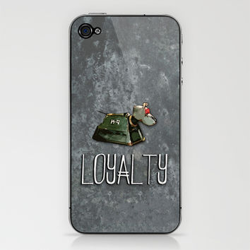 Doctor Who: K9: Loyalty iPhone & iPod Skin by Catherine | Society6