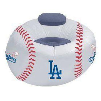 Los Angeles LA DODGERS Inflatable Air CHAIR w/Pump!