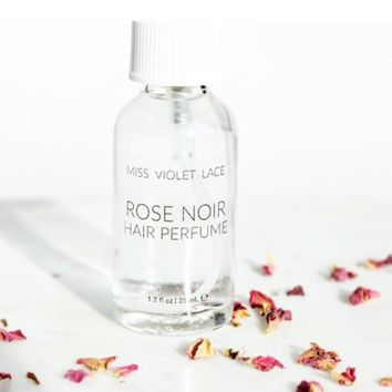 Miss Violet Lace Rose Noir Hair Perfume - Travel Size