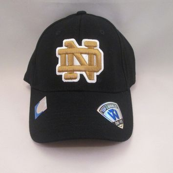 Notre Dame Fighting Irish Top of The World Fitted Hat