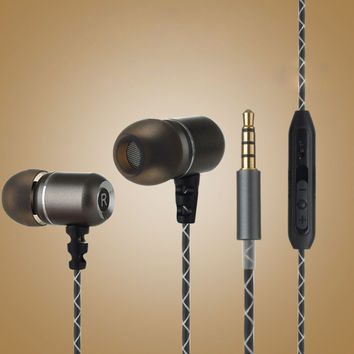 Wired 3.5MM Headphones Earphones, Turbine Series Wired In-Ear Earbuds Stereo Headset +Gift Box