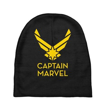 captain marvel 4 Baby Beanies