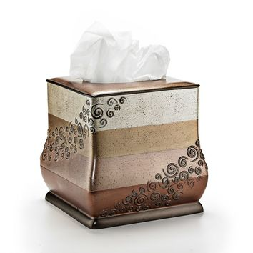 Miramar Tissue Holder (Brown)