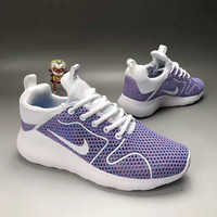 """""""NIKE"""" Fashion Casual Knit Fly Line Olympic Women Sneakers Running Shoes"""