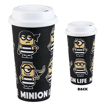 Universal Studios Despicable Me 3 Minion Life Prison Travel Mug New
