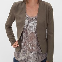 Hot & Delicious Scalloped Blazer