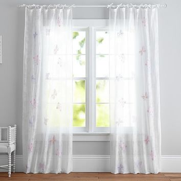 Butterfly Burnout Sheer Panel