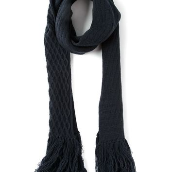 Lanvin cable knit scarf