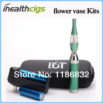 Flower Vase Cigarette kit T6 Atomizer Flower Vase Atomizer Ecig Atomizer Colorful Tumbler Tank Atomizer