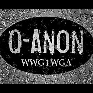 'QANON THE GREAT AWAKENING WWG1WGA GIFTS' by EmilysFolio