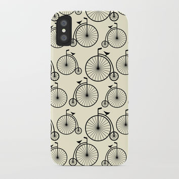 Vintage Bike iPhone Case by vanessavolk