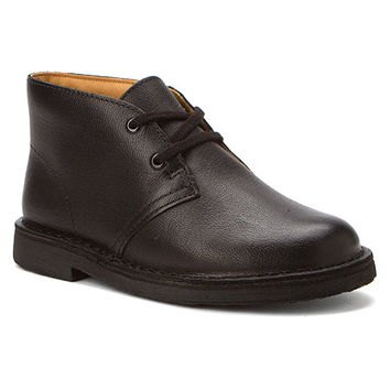 Clarks Desert Boot | Girls' - Black Smooth