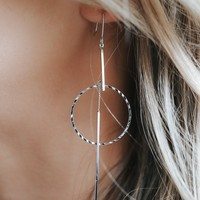 Came Back To You Earrings - Silver