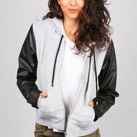Paradox Zipper Hoodie | Cute Sweaters at Pink Ice