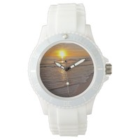 Watch: Sunset by the Beach Wrist Watch