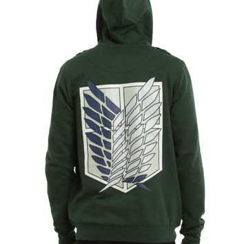 Attack On Titan Scouting Legion Jacket Hoodie