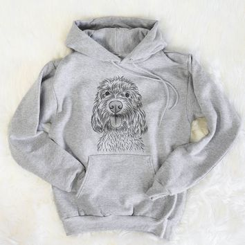 Clover the Cockapoo - Mens Hooded Sweatshirt