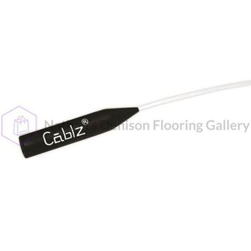 Cablz Zipz Adjustable Sunglasses Holder White 14in