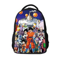 16-inch Mochila Infantil Dragon Ball Z Backpack Kids Boys Super Saiyan Children School Bags For Teenagers Dragon Ball Bag