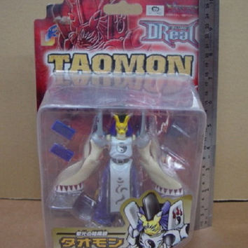 Bandai Digimon Digital Monster D Real Taomon Action Collection Figure Set